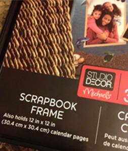 Scraobook Frame Metal