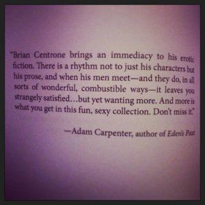 Adam Carpenter Quote Erotica